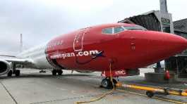 Norwegian Air plane