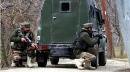 Indian security forces in Kashmir